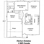 Harlan Estates 2 Bedroom Condo