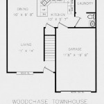 Woodchase Townhouses Downstairs