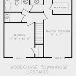 Woodchase Townhouses Upstairs